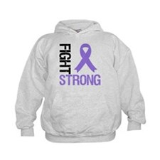 Hodgkin'sLymphoma Fight Strong Hoodie