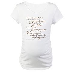 2nd Amendment Script Shirt