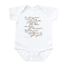 2nd Amendment Script Infant Bodysuit