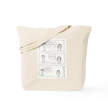 Break Up Tote Bag