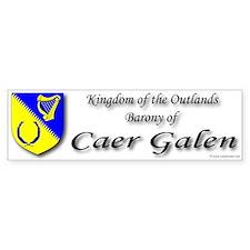 Caer Galen Bumper Bumper Sticker