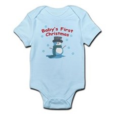 Baby's First Xmas Infant Bodysuit