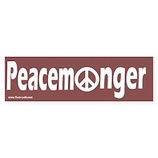 Bumper Sticker - Peacemonger