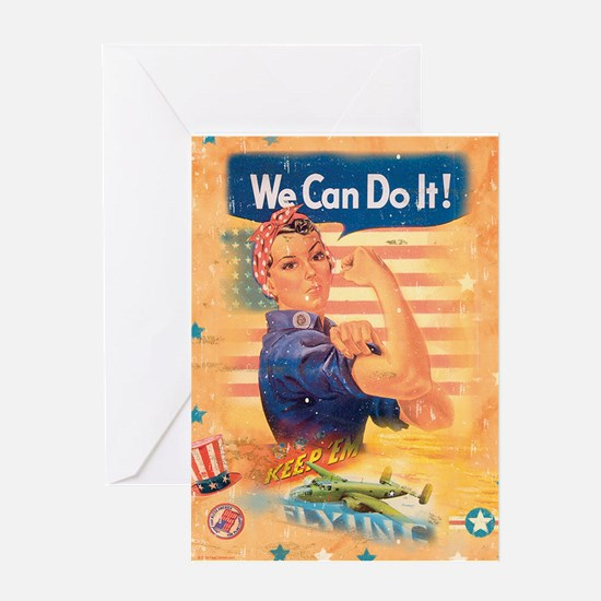 Rosie the Riveter Greeting Card