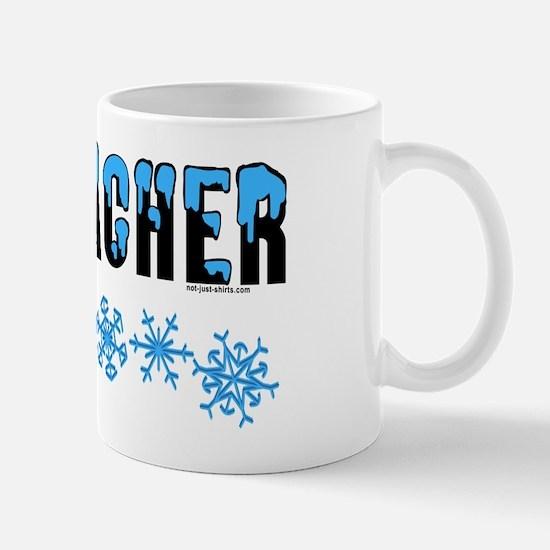 Snow Capped Geocacher Mug