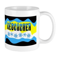 Snow Capped Geocacher Mug