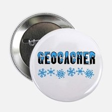 "Snow Capped Geocacher 2.25"" Button"