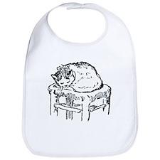 Napping Cat Bib