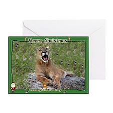 #019 Cougar Christmas Card