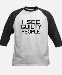 I see guilty people Kids Baseball Jersey