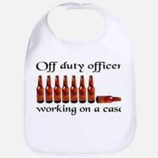 Off duty officer working on a Bib