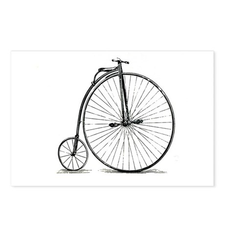 Penny Farthing Postcards (Package of 8)