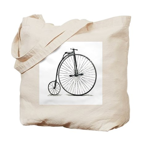 Penny Farthing Tote Bag