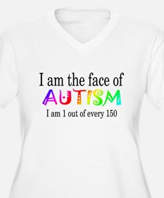 I Am The Face Of Autism T-Shirt