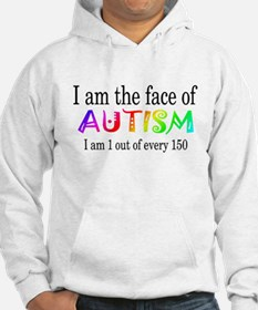 I Am The Face Of Autism Hoodie