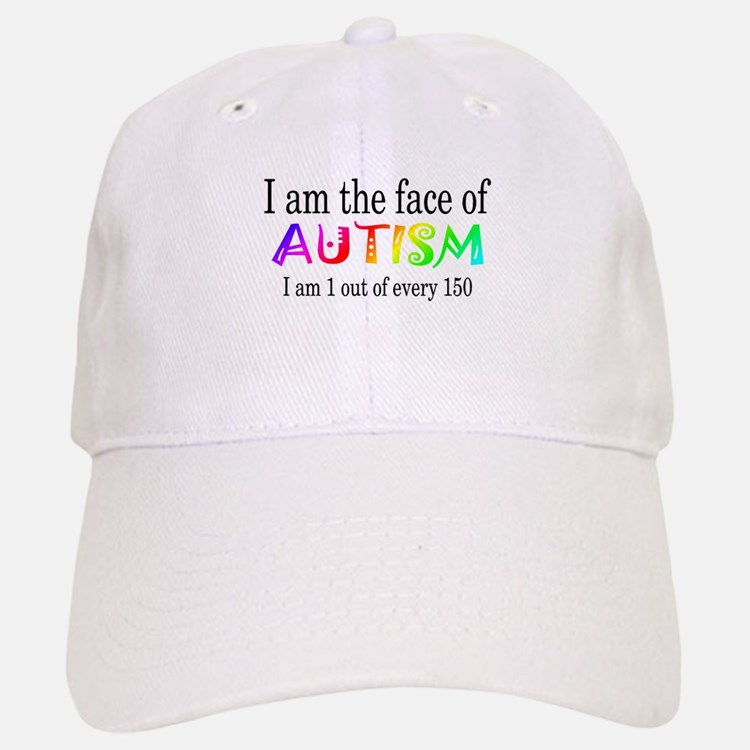 I Am The Face Of Autism Baseball Baseball Cap