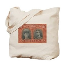 Rhodesia KGV Double Head 10s Tote Bag