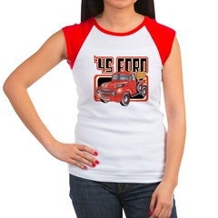 1945 Ford Pickup Women's Cap Sleeve T-Shirt