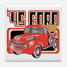 1945 Ford Pickup Tile Coaster
