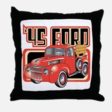 1945 Ford Pickup Throw Pillow