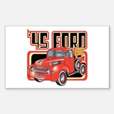 1945 Ford Pickup Rectangle Sticker 10 pk)