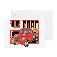 1945 Ford Pickup Greeting Cards (Pk of 20)