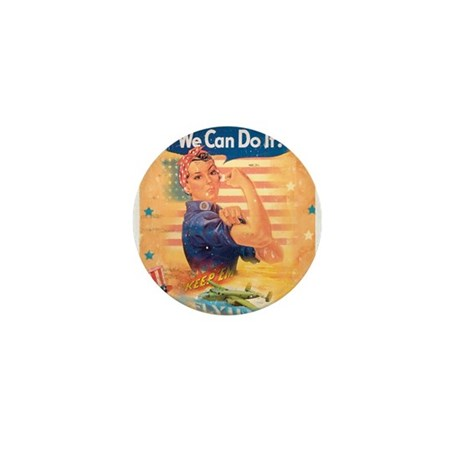 Rosie the Riveter Mini Button (10 pack)