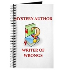 author and writers joke Journal