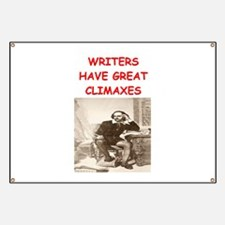 author and writers joke Banner