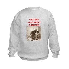 author and writers joke Sweatshirt