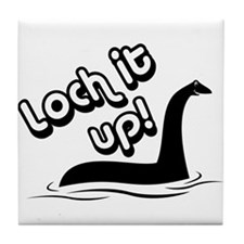 Loch it Up! Tile Coaster