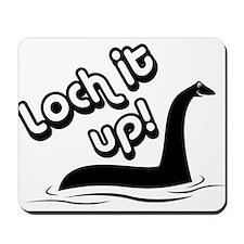 Loch it Up! Mousepad