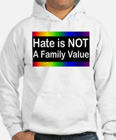 Hate is Not a Family Value Jumper Hoody