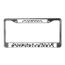Cat Tracks 3D License Plate Frame