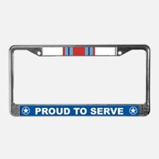 Combat Readiness License Plate Frame