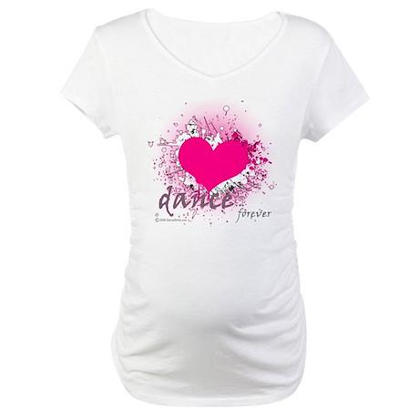Love Dance Forever Maternity T-Shirt