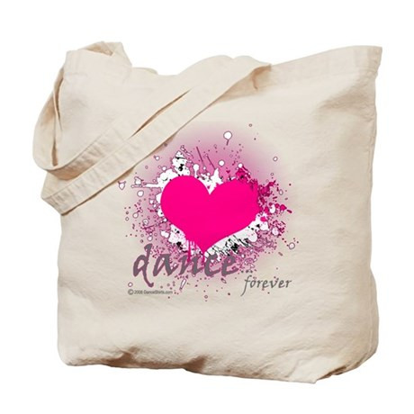 Love Dance Forever Tote Bag