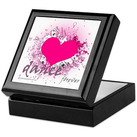 Love Dance Forever Keepsake Box