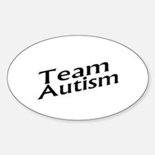 Team Autism Oval Decal