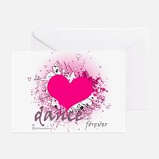 Love Dance Forever Greeting Cards (Pk of 20)