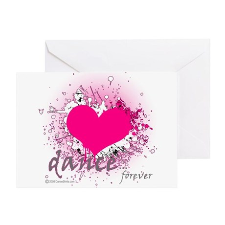 Love Dance Forever Greeting Card