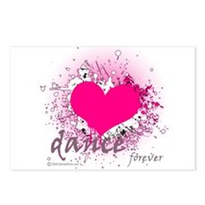 Love Dance Forever Postcards (Package of 8)
