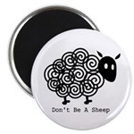 "Don't Be A Sheep 2.25"" Magnet (100 pack)"