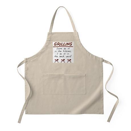 Grilling XXX BBQ Apron