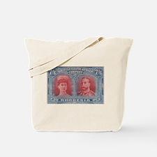 Rhodesia KGV Double Heads 7s6d Tote Bag
