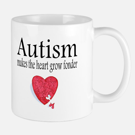 Autism Makes The Heart Grow Fonder Mug