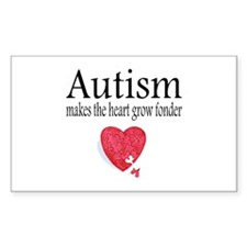 Autism Makes The Heart Grow Fonder Decal
