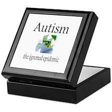 Autism, The Ignored Epidemic Keepsake Box