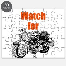 Watch for Motorcycles Puzzle