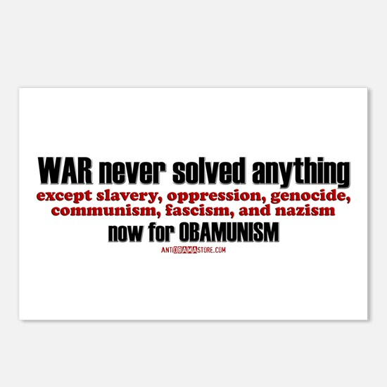 now for OBAMUNISM Postcards (Package of 8)